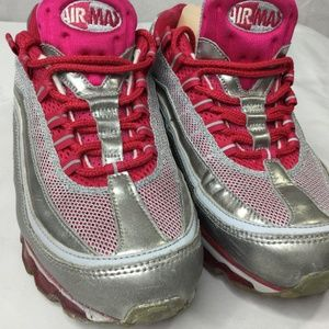 Nike Shoes - Nike Air Max 24 7 Sneaker Sz 9 Voltage Cherry Pink